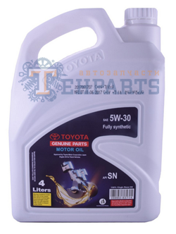 TOYOTA Fully Syntetic 5W-30 SN, 4л